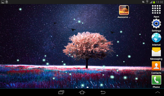 Awesome Land Live Wallpaper screenshot 14