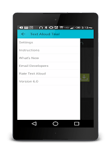 Text Voice SMS Reader Trial screenshot 5