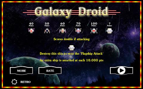 Galaxy Droid screenshot 0