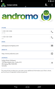 Andromo Sample screenshot 22