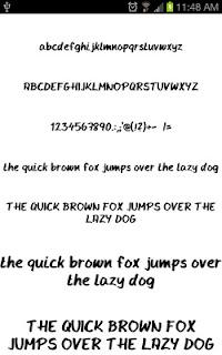 Write Fonts for FlipFont free screenshot 00