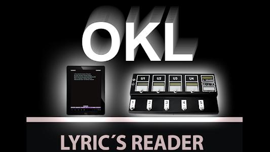 OKL Lyrics Reader screenshot 0