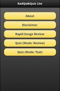 RadQuikQuiz Lite screenshot 0