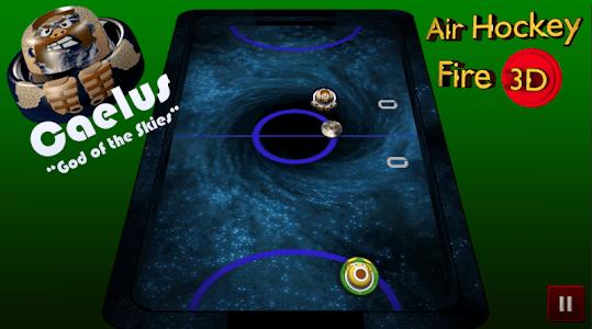Air Hockey Fire 3D screenshot 1