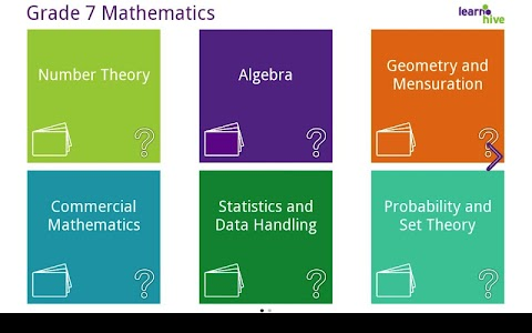 Grade 7 Math Learning Cards screenshot 0