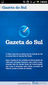 Gazeta do Sul screenshot 0