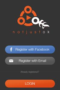 Notjustok screenshot 0
