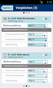 Weisse Liste Arztsuche screenshot 4