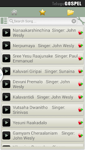 Telugu Gospel Songs Pro screenshot 5
