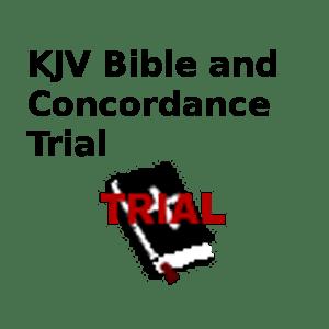 KJV Bible and Concordance-Demo