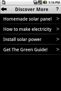 Create Green Energy screenshot 1
