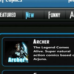 Comics design India screenshot 6