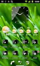 Theme Crystal Black Flat HD v11 Apk - android-cracked-application