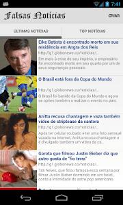 Falsas Notícias screenshot 0
