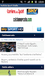 Notizie Sportive Italia screenshot 0