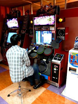 Akihabara, videojuego batería