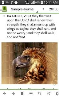 MySword Bible screenshot 04