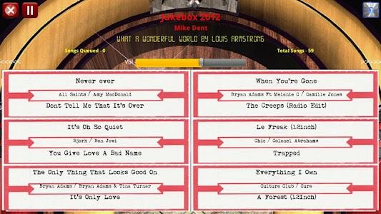 Jukebox 2012 Free Edition screenshot 3