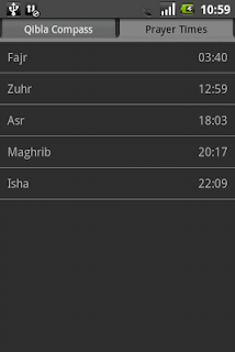 Qibla Compass screenshot 01