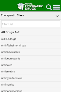 Nursing Psychiatric Drugs screenshot 0