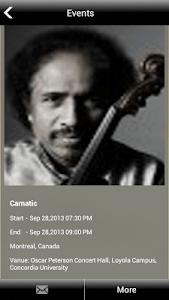 Indian violin Dr.L.Subramaniam screenshot 5