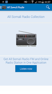 Radio Muqdisho screenshot 0