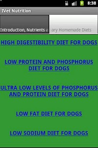 Veterinary Homemade Diet screenshot 1