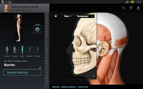 Virtual Human Body screenshot 10