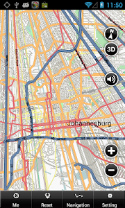 Johannesburg Offline Map screenshot 1