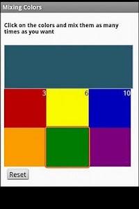 Mixing Colors screenshot 1