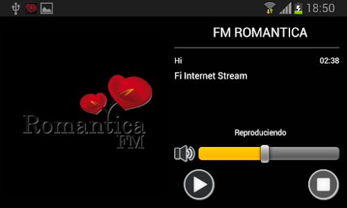 Radio Romantica screenshot 3