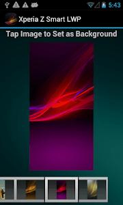 Xperia Z Smart LWP screenshot 3