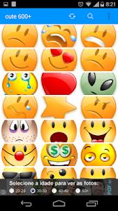 emoticons cute 600 screenshot 4