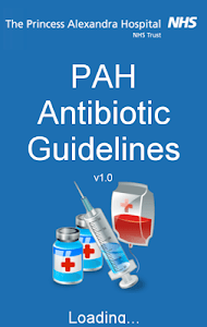 PAH Antibiotic Guidelines screenshot 1