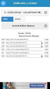 İzmir Akıllı Durak screenshot 1