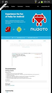 Ruboto Core screenshot 1