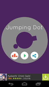 Jumping Dot - Bouncing Balls screenshot 0