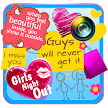Cute Stickers for Girls APK