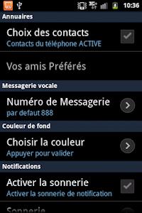 SMS parlant francais screenshot 2