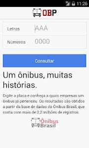 OBP - Ônibus Brasil Placas screenshot 0