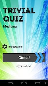 Trivial Quiz - Medicina screenshot 0