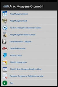Araç Muayene screenshot 1