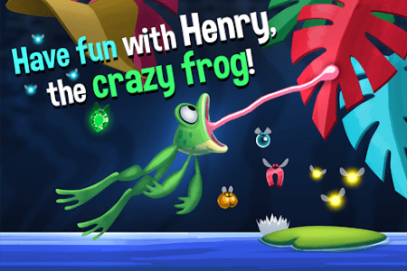Frog Swing - Sticky Tongue screenshot 0