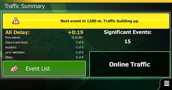ANS Traffic Android (GCC) screenshot 1