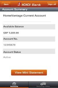 ICICI Bank UK – Mobile Banking screenshot 3