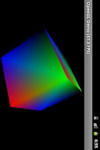 OpenGL ES 1.0 Demo screenshot 0