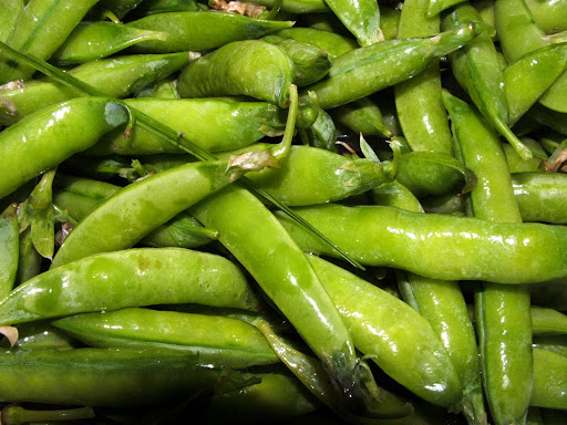 Mmm, peas