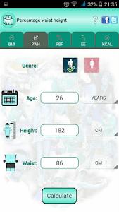 BMI Ideal weight and calories screenshot 4