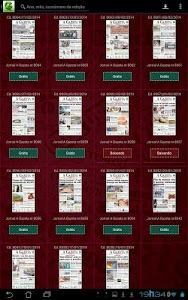 Gazeta Digital screenshot 3