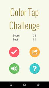 Color Tap Challenge screenshot 0